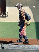 Homeless Paintings - The Honey Seller by Michael Ward