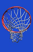 Dunk Metal Prints - The Hoop Metal Print by Ron Pniewski