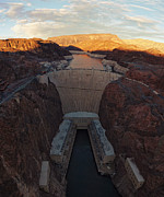 Philip Guiver - The Hoover Dam at Dusk