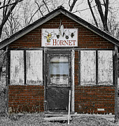 Old Building Framed Prints - The Hornet Framed Print by Thomas Young