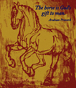 Lisa Phillips Owens - The Horse Is God