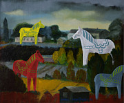 Jukka Nopsanen - The Horses of the Village