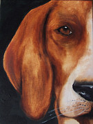 Foxhound Prints - The Hound Print by Kathy Laughlin