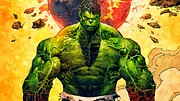 The Hulk Photo Prints - The Hulk Print by Florian Rodarte
