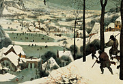 The Hunters In The Snow Print by Jan the Elder Brueghel