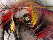 Carlita Cooly - The Huntress-Abstract Art