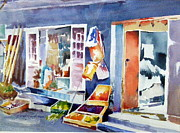 - Occupy Beijing Paintings - The Hutong Beijing China by Karen Liebman