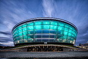 Scotland Prints Framed Prints - The Hydro Glasgow Framed Print by John Farnan