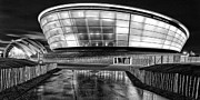 Scotland Landscape Prints Prints - The Hydro mono Print by John Farnan