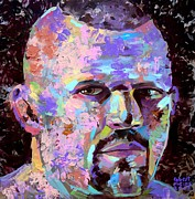 Ufc Paintings - The Iceman Chuck Liddell by Robert Phelps
