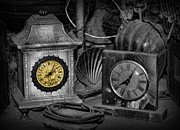Tabletop Framed Prints - The Illusion of Time Framed Print by Lee Dos Santos