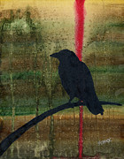 Kafka Painting Posters - The Impossibility of Crows Poster by Jim Stark