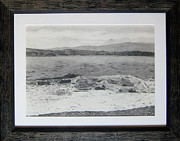 Seascape Drawings Originals - The Incoming Tide by Malcolm Warrilow