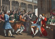 The Industrious Prentice Alderman Print by William Hogarth