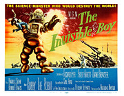 Vintage Posters Art - The Invisible Boy Poster by Sanely Great