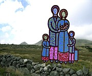 Family Love Mixed Media - The Irish Famine 2 by Patrick J Murphy