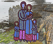 Family Love Mixed Media - The Irish Famine 4 by Patrick J Murphy