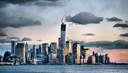 New York City Skyline Framed Prints - The Island Framed Print by JC Findley