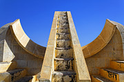 Jaipur Photos - The Jantar Mantar Observatory in Jaipur India by Robert Preston