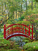Peaceful Scene Framed Prints - The Japanese Garden Framed Print by Martin Bergsma