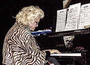 Avant Garde Jazz Photos - The Jazz Pianist 2 by Rebecca Dru