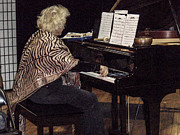 Avant Garde Jazz Photos - The Jazz Pianist by Rebecca Dru