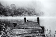 Jetty Prints - The Jetty Loch Ard Print by John Farnan