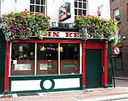 Irish Pubs Posters - The John Kehoe In Dublin Poster by Mel Steinhauer
