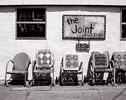 Cajun Cafe Prints - The Joint New Orleans Print by Katya LaRoche