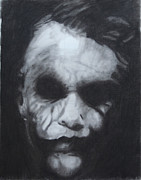 Aaron Balderas Framed Prints - The Joker Framed Print by Aaron Balderas