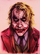 Hero Pastels - The Joker by Brent Andrew Doty