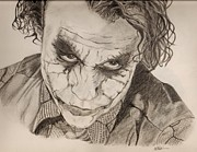 The Dark Knight Drawings - The Joker by Colourful Phoenix