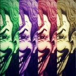 Comic Posters - The Joker Poster by Vickie Scarlett-Fisher