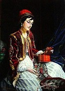 Portrait Jewelry - The Juwelry box - Orientalism by Paul Gosselin