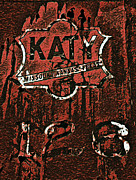 The K A T Y Railroad Sign Print by R McLellan