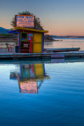Terry Garvin Prints - The Kayak Shack Morro Bay Print by Terry Garvin