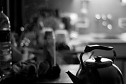 Brian Carr-rollitt Prints - The kettle in the kitchen Print by Brian Kenneth