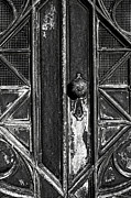 Ancient Doors Prints - The Key Hole Print by Darren Fisher