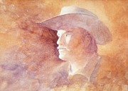 Original Cowgirl Framed Prints - The Kid Framed Print by John  Svenson