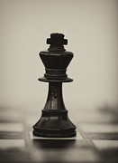 Chess Piece Posters - The King Poster by Arisha Singh