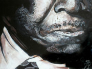 B.b.king Paintings - The King by Chad Rice