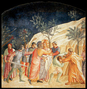 Betrayal Prints - The Kiss of Judas Print by Fra Angelico