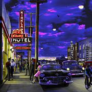 Kirkland Digital Art Prints - The KL Print by Mark Didine