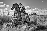 Knight Photo Prints - The Knight Goes Forth Print by Daniel Hagerman