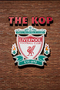 Liverpool Football Prints - The Kop Print by Paul Madden