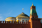 Lenin Prints - The Kremlin Senate Building Print by Alexander Senin