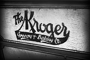 Nostalgic Photos - The Kroger Sign by Kelly Hazel