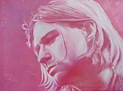 Kurt Cobain Art - The Kurt Cobain 2 by Sukalya Chearanantana