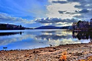 Dave Woodbridge Metal Prints - The Lake Metal Print by Dave Woodbridge