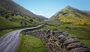Mountain Road Prints - The Lake District Print by Jerry Deutsch